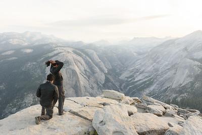 Engagement on Half Dome
